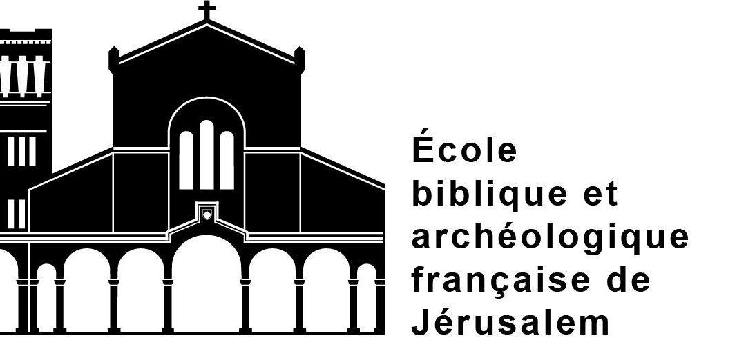 Visiting Scholar at EBAF Ecole biblique et archéologique, Jerusalem