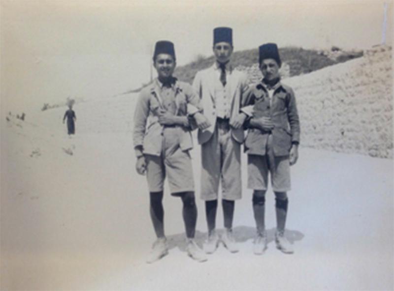 Muslim Schoolboys, Jerusalem - F.Scholten - NINO