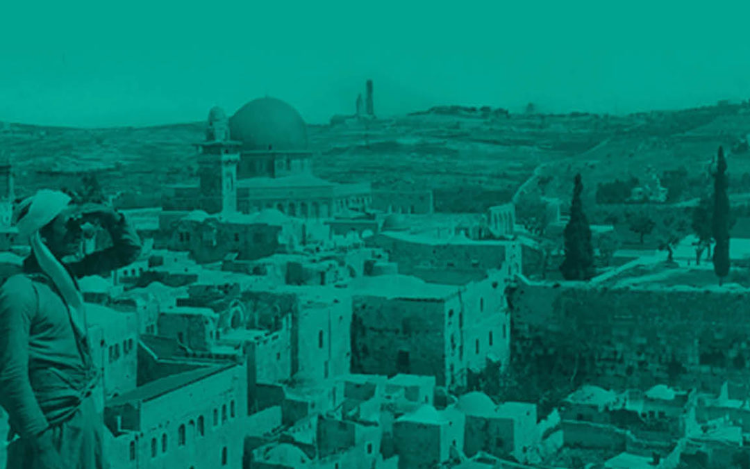 Tracing Historical Paths through the Jerusalem Archives Digital Platform