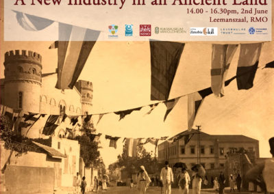 02/06/2022 – A New Industry in an Ancient Land