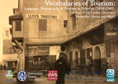 1-3/06/2022 – Vocabularies of Tourism: Language, Photography & Tourism in Palestine (1898-1948)