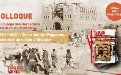 100 years of Terre Sainte Magasine